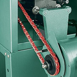 Grizzly V-Belt link installed on Grizzly Table Saw (image)