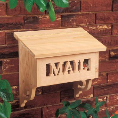 projects wood mailbox